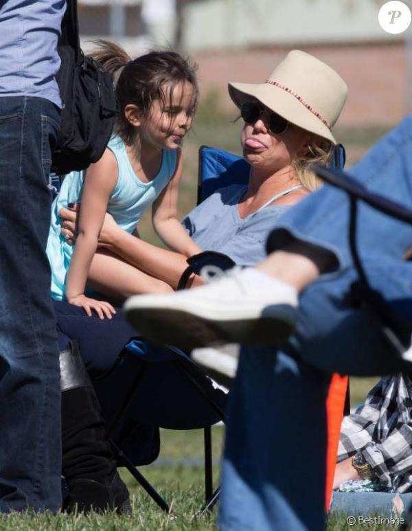 Britney Spears complice avec sa ni�ce Lexie : Un apr�s-midi sport et famille