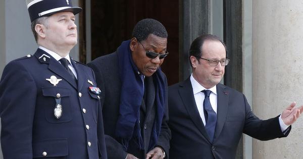 Fran�ois Hollande et Thomas Boni Yayi appellent � la fin des violences au Burundi