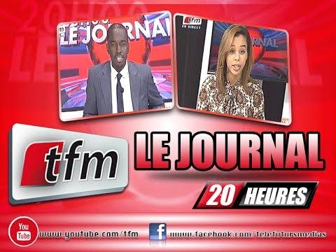 JT Fran�ais 20h � 08 Fevrier 2016 � Pr�sentation: Cheikh Tidjane Diao et L�a Ndiaye