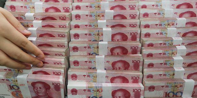 Les r�serves de change chinoises ont fondu de 207,4�milliards de dollars en deux mois
