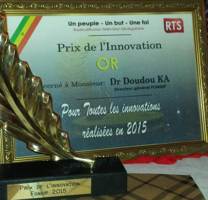 Prix de l'innovation 2015 : Le fongip, premier laur�at en or.
