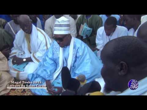 Magal Touba 2015 Ouverture de la lecture du Saint coran - Murid Channel