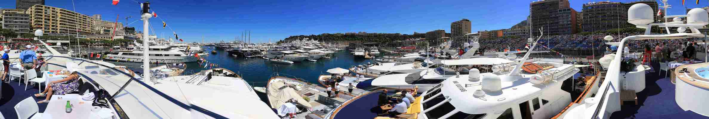 Monaco Grand Prix Harbour