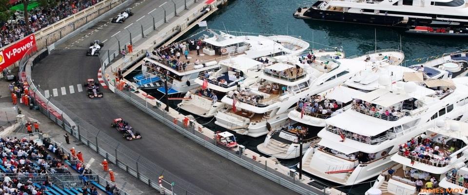 Monaco Grand Prix Race Viewing - Monaco Yacht