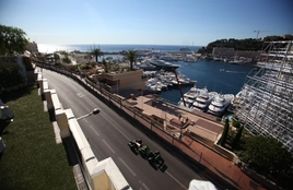 Midi Terrace, Hotel Hermitage - Race Viewing