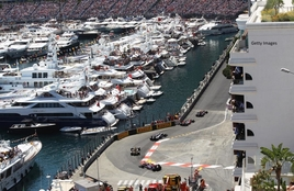 Chicane Yacht - Monaco Harbour