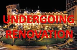 Hotel de Paris - undergoing major renovations