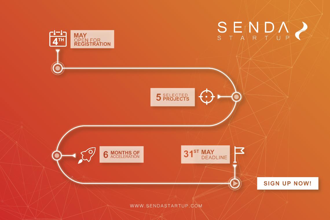 Senda Startup lanza su primera convocatoria