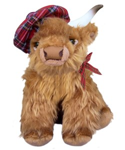 A Very Scottish Highland Cow | Buy from send-a-cuddly