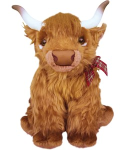 Handmade Highland Cow | Buy from send-a-cuddly