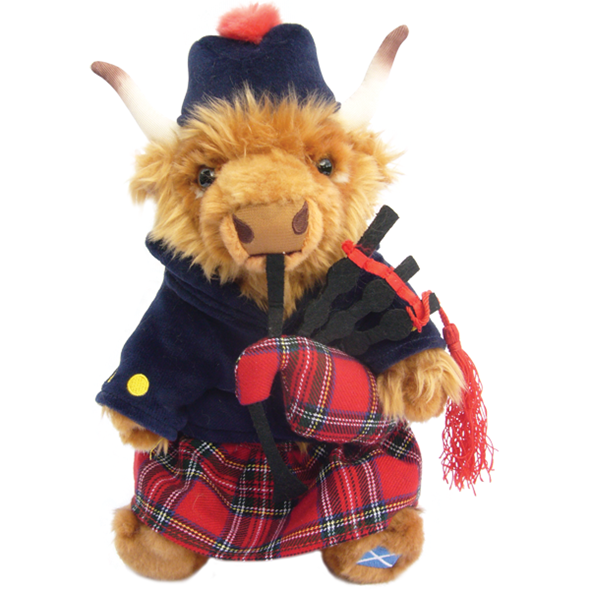 Highland Piper Cow