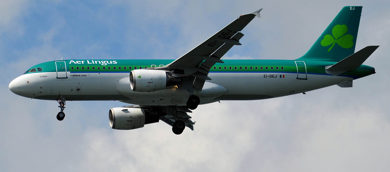 Aer Lingus Flight Packed from Belfast to London