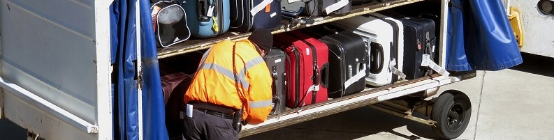 Baggage Handler Steals Luggage