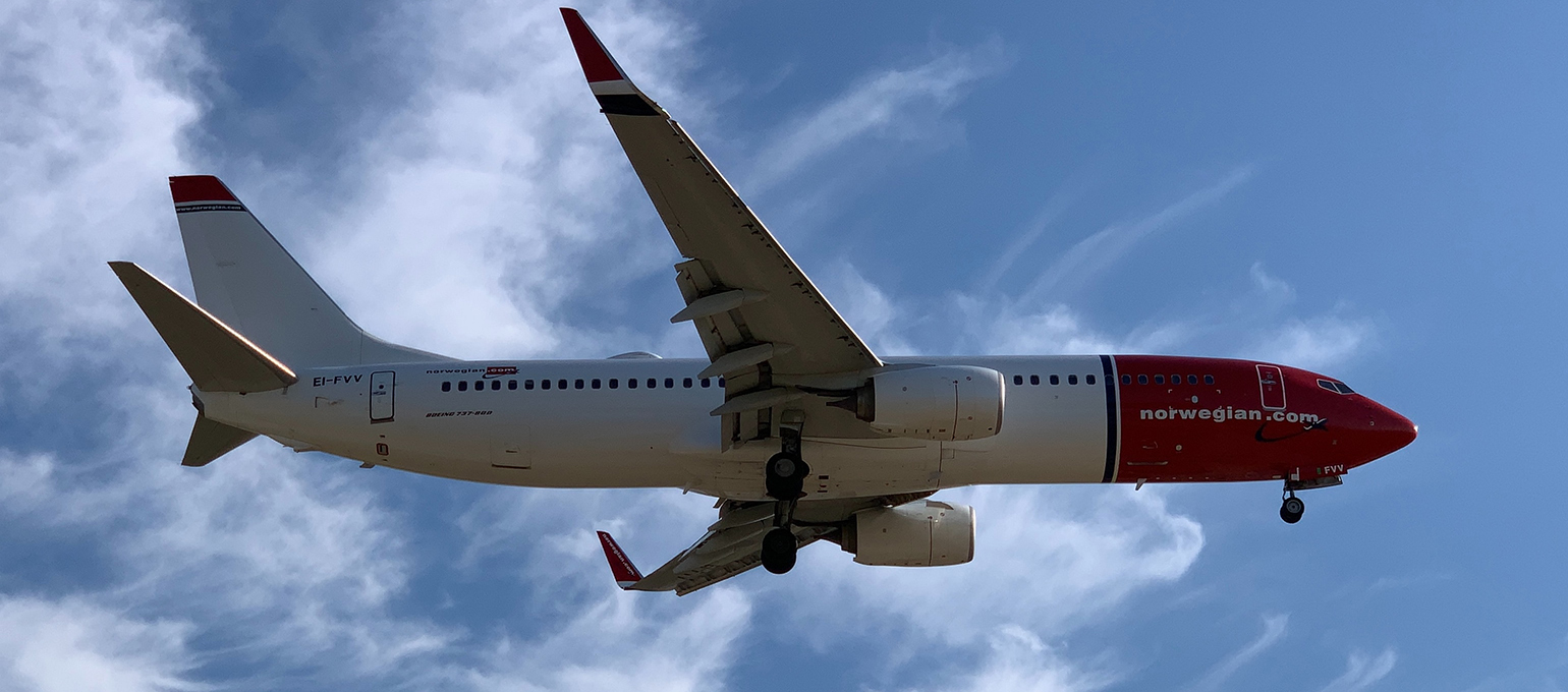 Norwegian Air Start Charging for Hand Luggage
