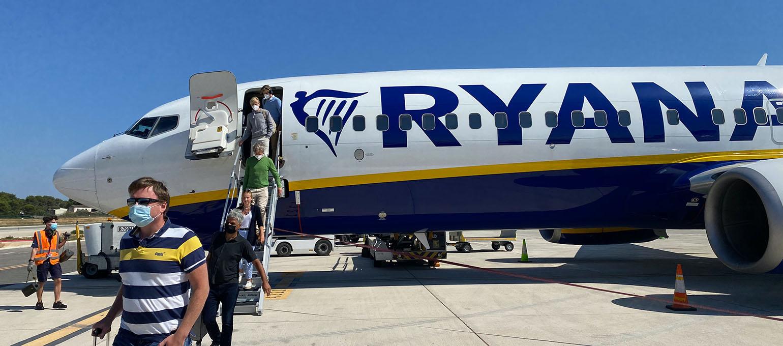 Ryanair Restores 60% of Flights in August