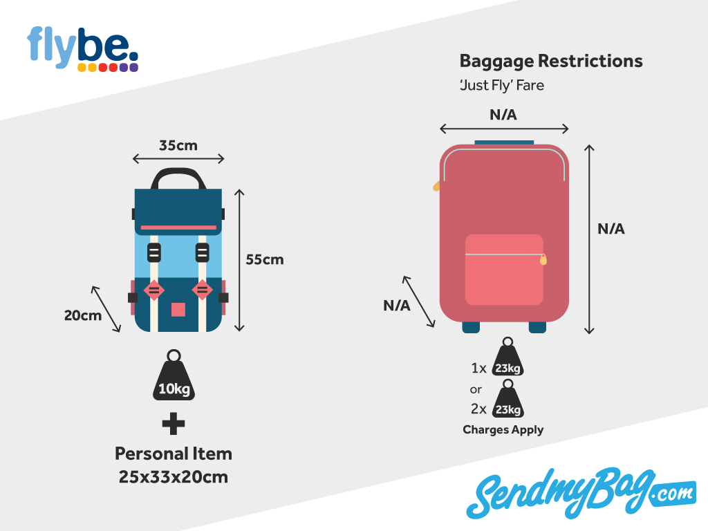 2018 Flybe Baggage Allowance For Hand Luggage & Hold ...