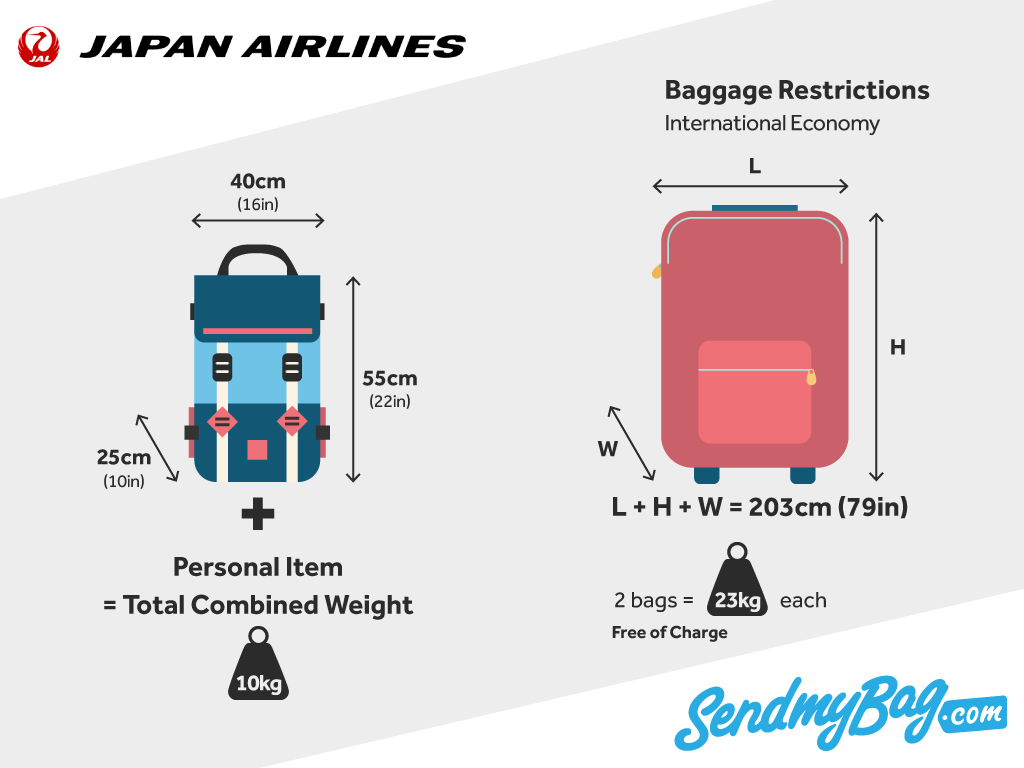 Japan Airlines Baggage Allowance 2019 For Carry On