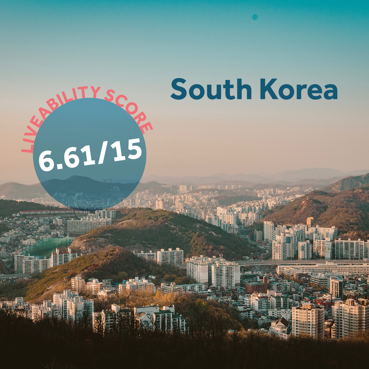 South Korea - US expat destination