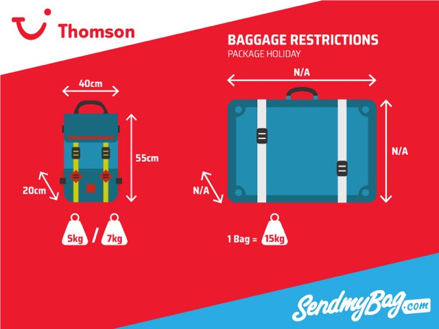 Thomson Baggage Allowance