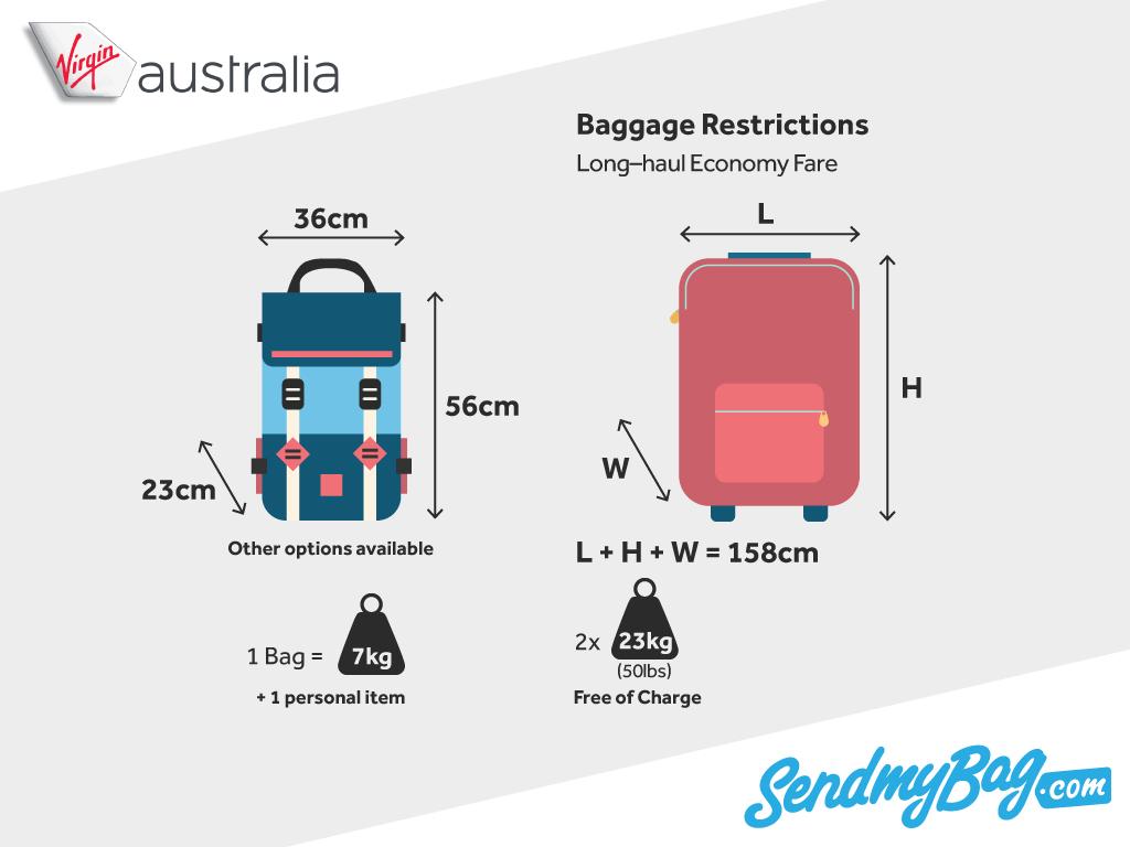 Virgin Australia Baggage Allowance
