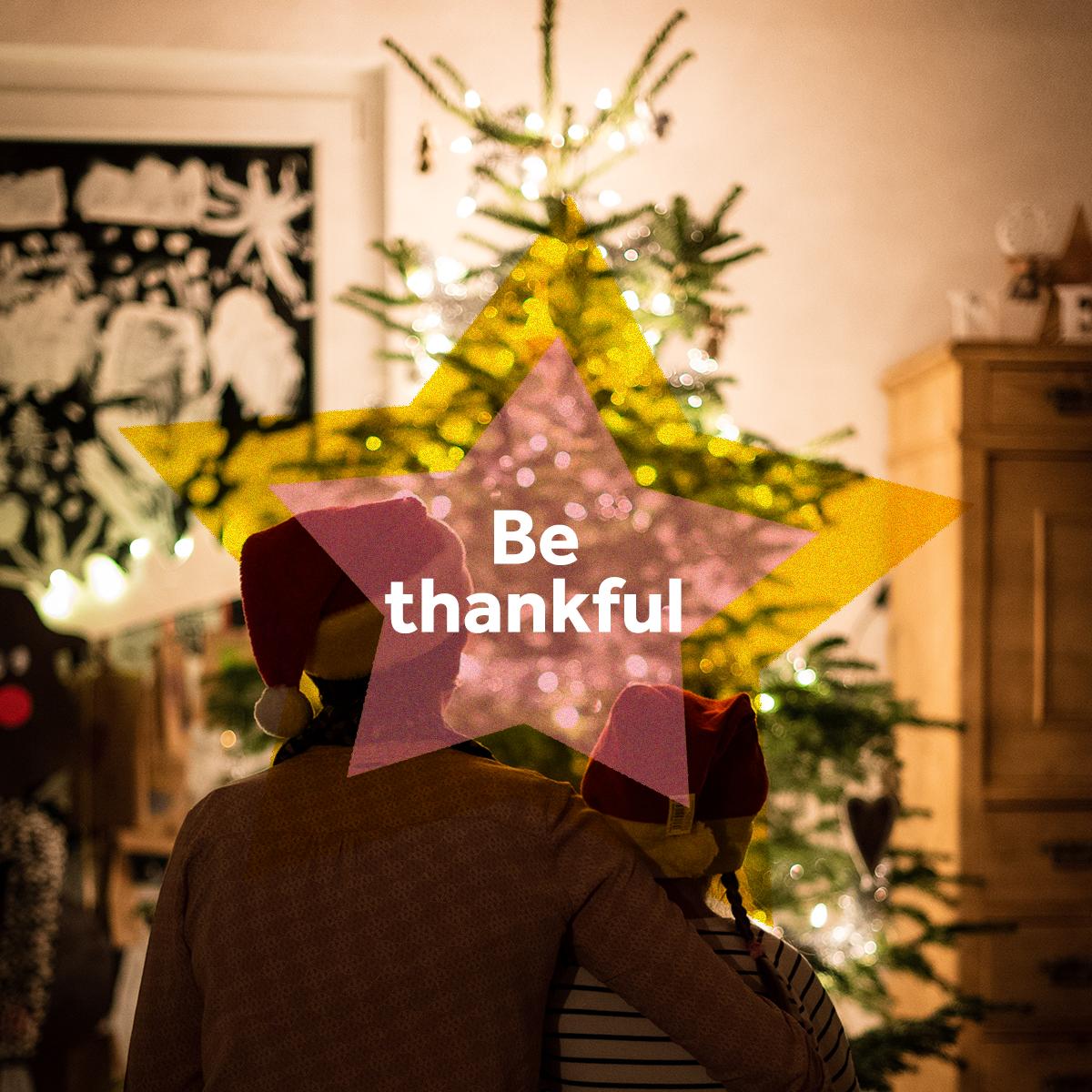 Festive Spirit - be thankful