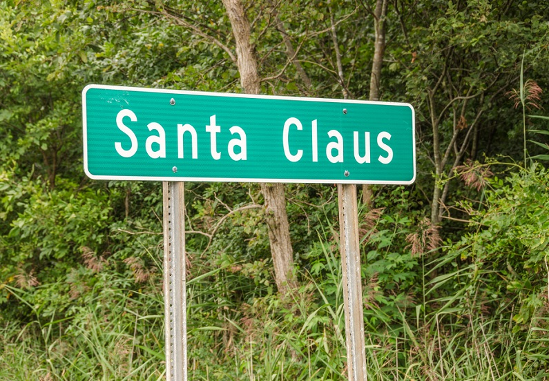 Christmas destinations:Santa Claus