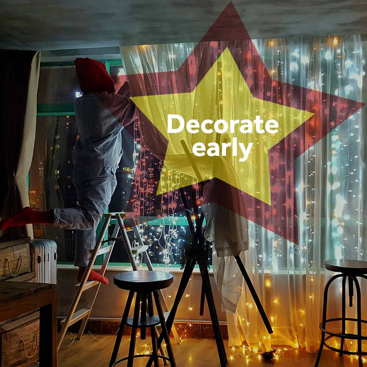 Festive Spirit - Decorate Early