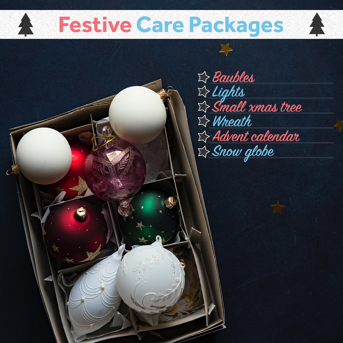 Christmas Care Packages - Decorations