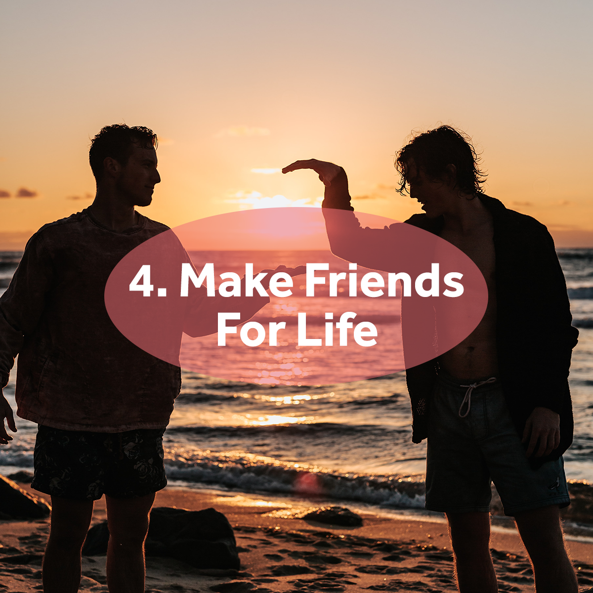 Make great friends - reasons to study abroad