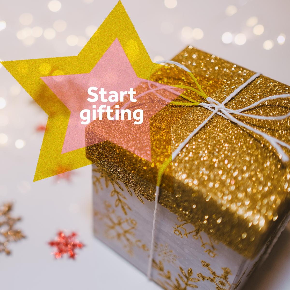 Festive Spirit - start gifting