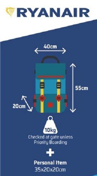 Hand Luggage Ryanair