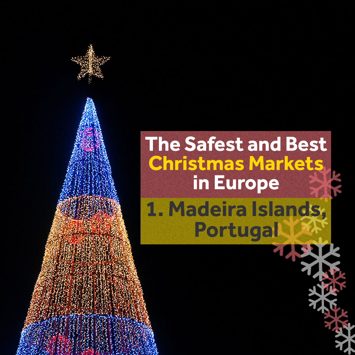 Europe Christmas Markets - Madeira