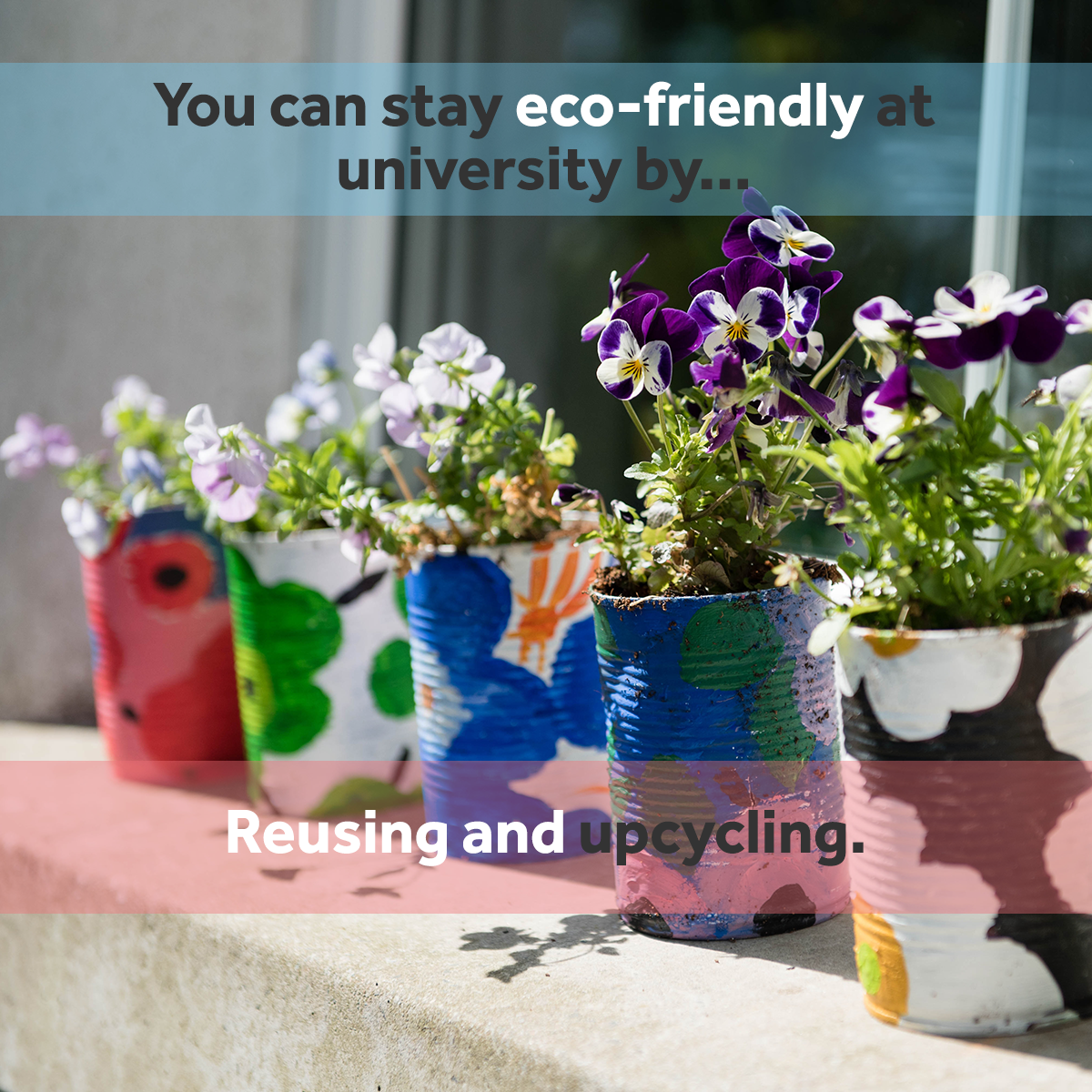 Reuse and upcycle - eco friendly at university