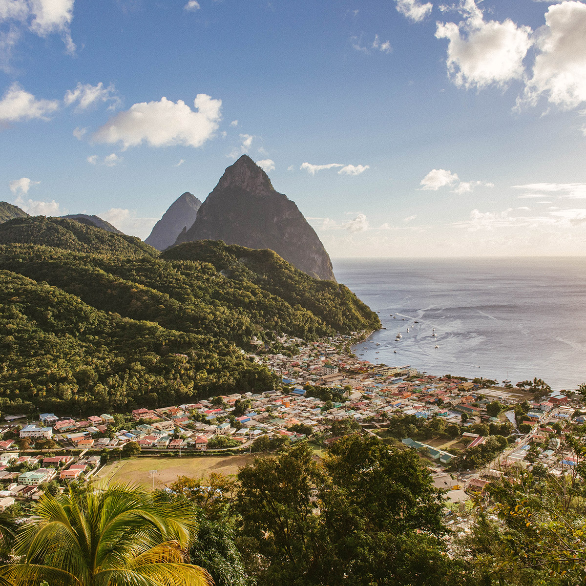 Best Destinations in January 2021 for UK Nationals - Saint Lucia