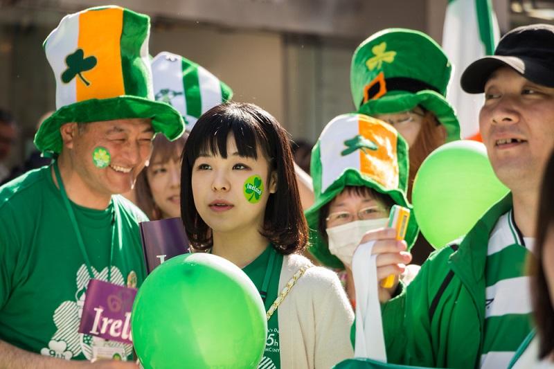 St Patrick's Day Japan