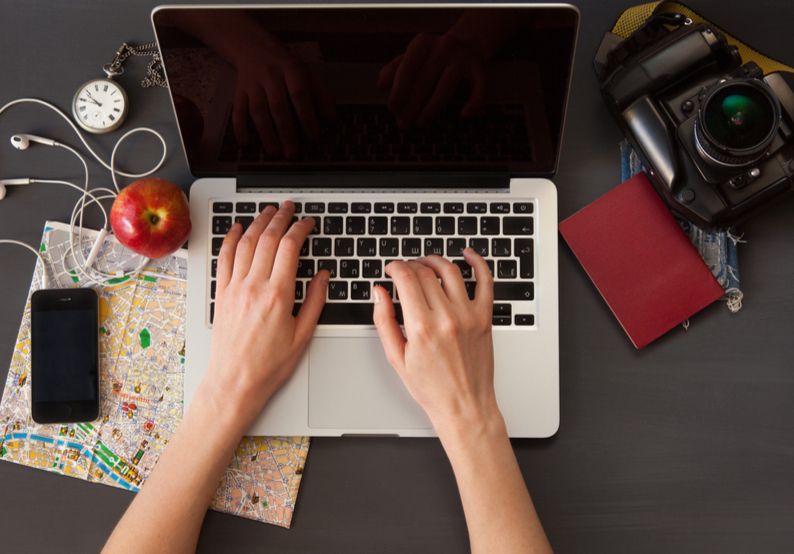 Keep A Travel Blog to Record Your Time Abroad