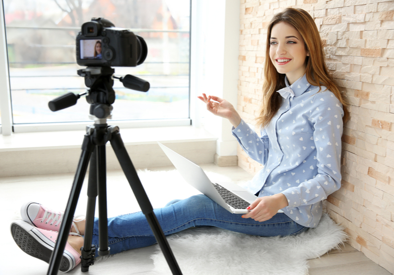 Become a Vlogger to Record Your Time Abroad