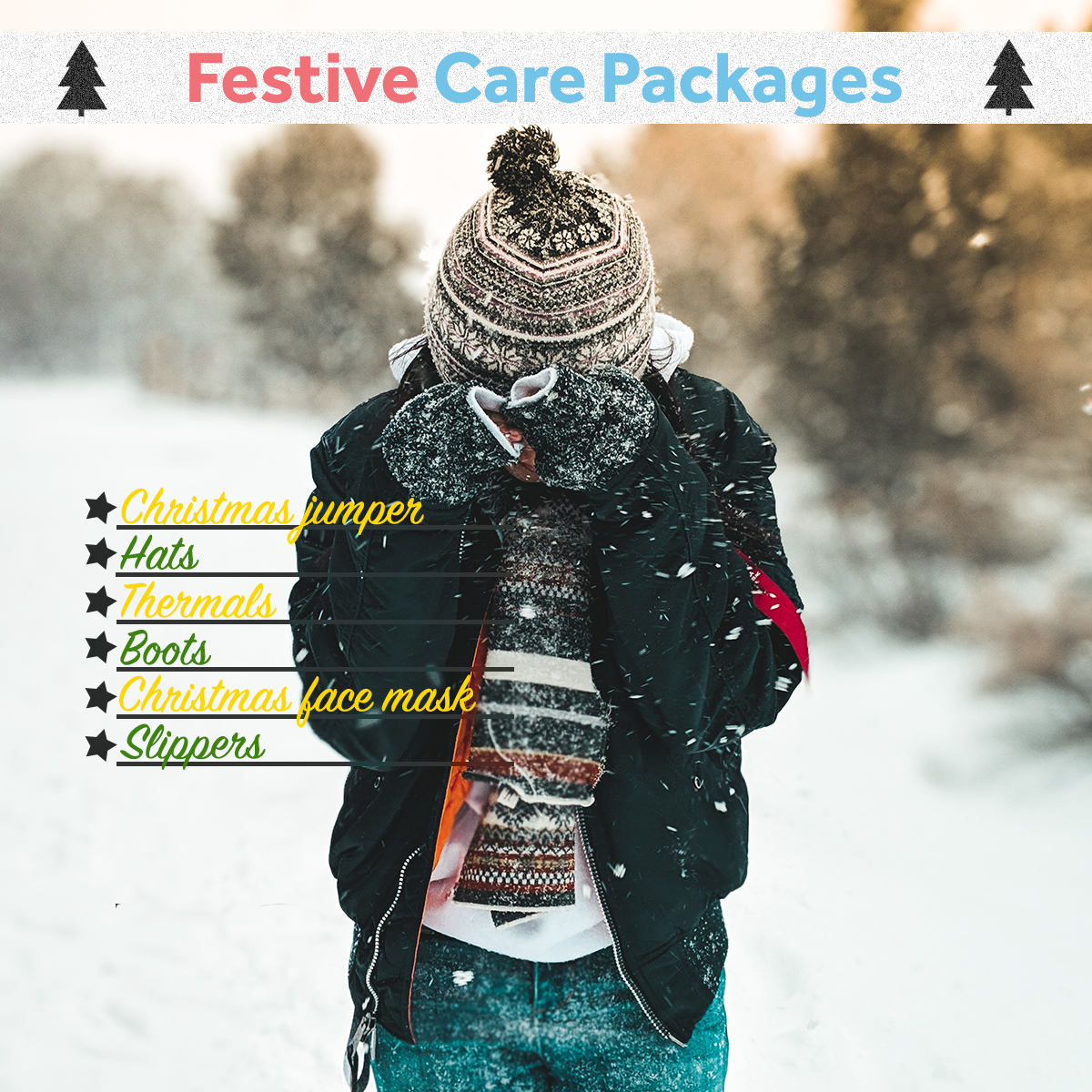 Christmas Care Packages - Winter Clothing