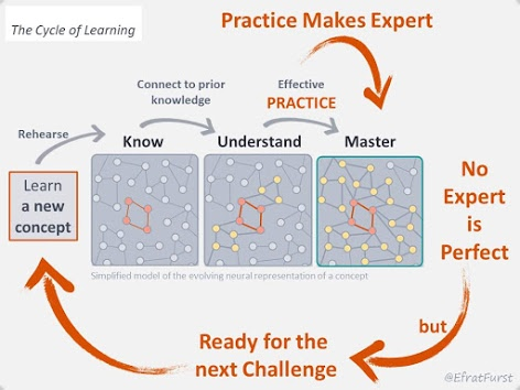 Seneca Learning -  practicing until we master a knowledge