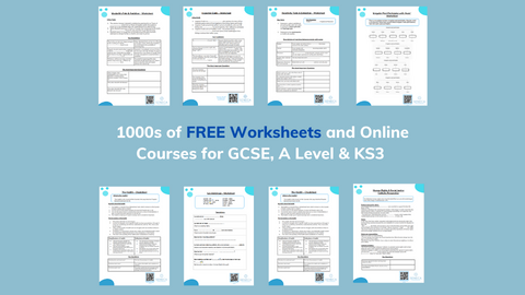 Worksheets & Online Learning Resources