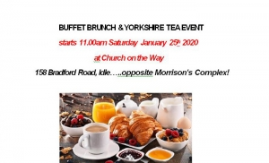Buffet Brunch & Yorkshire Tea Event