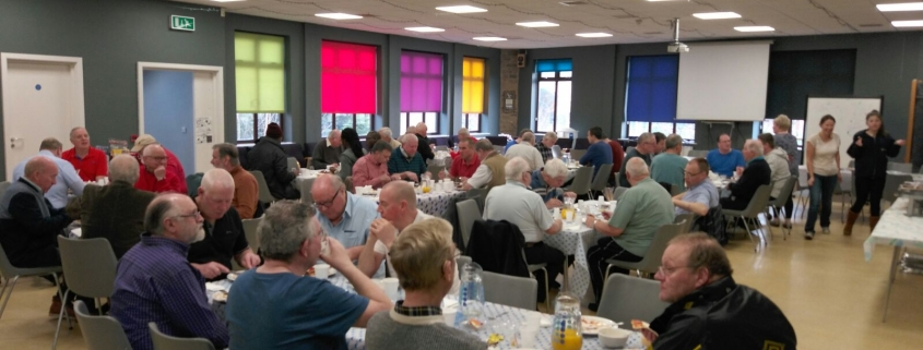 mens breakfasts church on the way