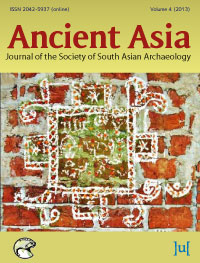 cover image for the Ancient Asia journal