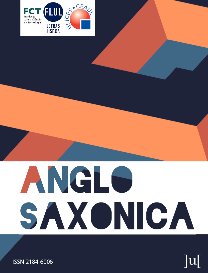 cover image for the Anglo Saxonica journal