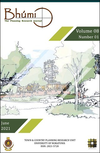 cover image for the Bhumi, The Planning Research Journal journal