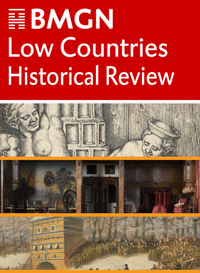 cover image for the BMGN - Low Countries Historical Review journal