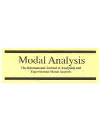 cover image for the Modal Analysis: The International Journal of Analytical and Experimental Modal Analysis journal
