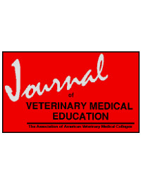 cover image for the Journal of Veterinary Medical Education journal