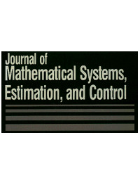 cover image for the Journal of Mathematical Systems, Estimation, and Control journal