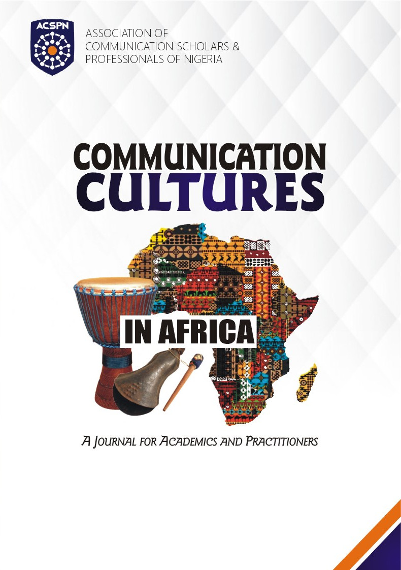 cover image for the Communication Cultures in Africa journal